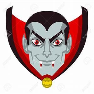 Vampire Head Clipart - ClipartXtras