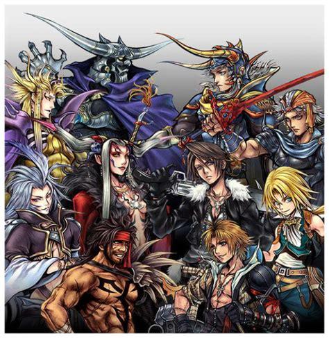 final fantasy dissidia characters list