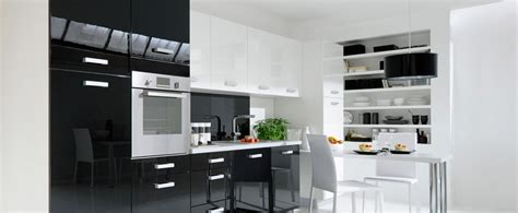 decoration cuisine noir et blanc design deco cuisine noir et blanc angers 1813 deco