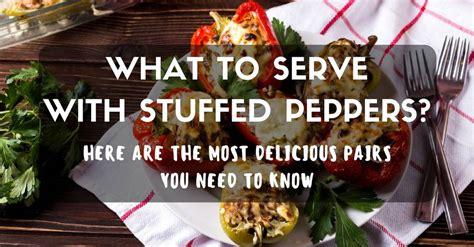 stuffed peppers serve