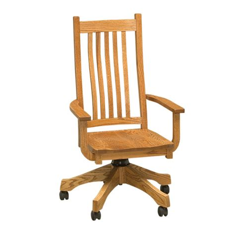 wood desk chairs with casters dining chairs