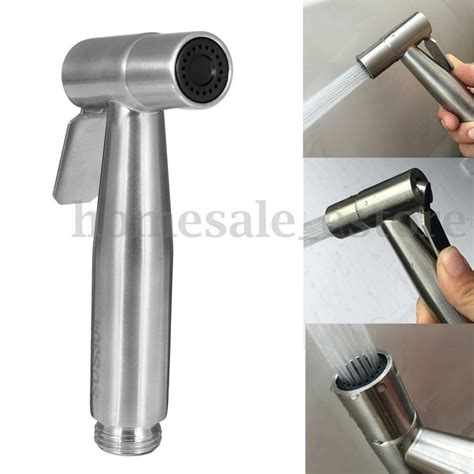 Handheld Bidet Sprayer Set For Toilets - stainless steel held shattaf toilet bidet sprayer