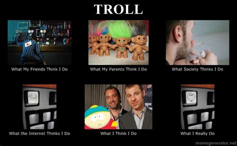 Troll  What People Think I Do  What I Really Do Know