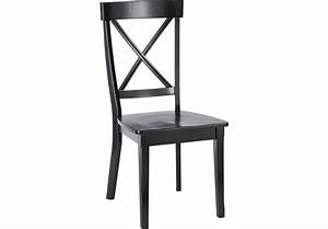 Brynwood Black Side Chair - Side Chairs (Black) Black