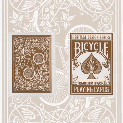 bicycle heritage playing cards  deck set  uspcc