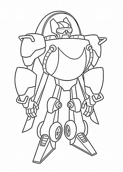 Coloring Rescue Pages Bots Bot Printable Blades