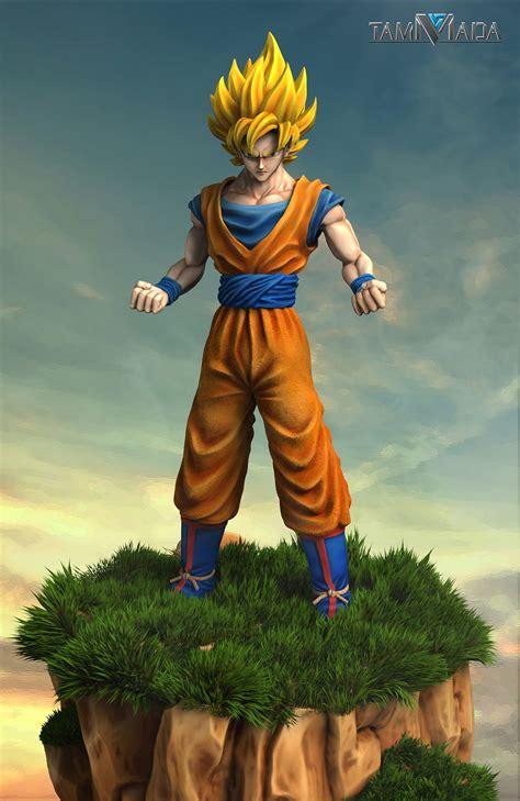 ArtStation - Goku, jeerapong suriyamat