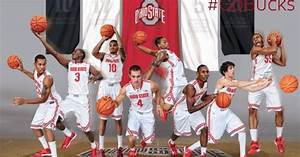 2013-2014 OHIO STATE BUCKEYES MENS BASKETBALL TEAM ...