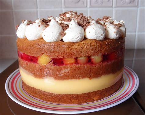 trifle layer order the caked crusader trifle sponge cake