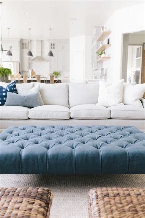 Large Living Room Ottoman by Mapleton New Build Living Room House Of Jade Interiors