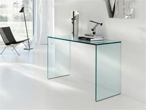 petit bureau en verre console en verre 50 id 233 es de d 233 coration d int 233 rieur