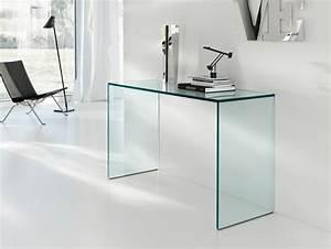 Console En Verre : console en verre 50 id es de d coration d 39 int rieur ~ Teatrodelosmanantiales.com Idées de Décoration