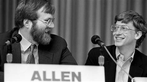 Microsoft exists because Paul Allen and Bill Gates ...