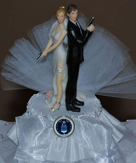 super sexy air force bride  groom  gun cute funny