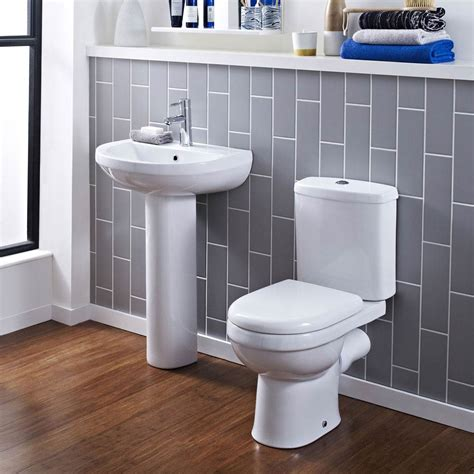 Modern Bathroom And Toilet by Sofia Modern Coupled Toilet With Soft Seat