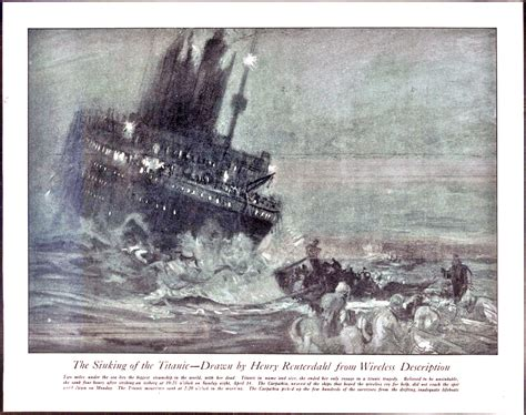 where did the titanic sink file reuterdahl sinking of the titanic jpg wikipedia
