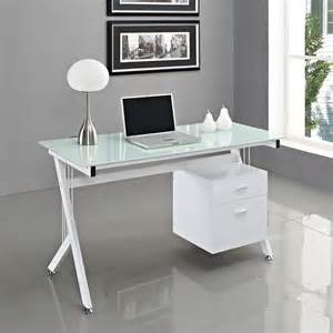 Glass Computer Desk Office Furniture