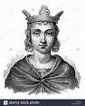 Conrad or Conradin, 1254-1268, the Duke of Swabia, as ...