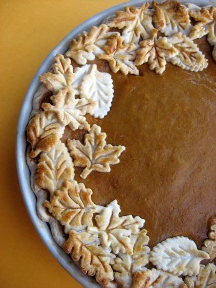 decorative leaf pie crusts home design garden