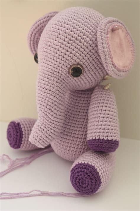 crochet elephant happyamigurumi amigurumi elephant pattern in process