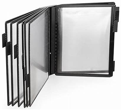 Wall Binder Reference Mount Rack Tabs Paper