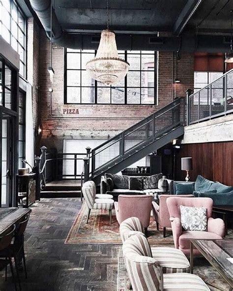 Modern Industrie Stil Wohnzimmer Industrielle Wohnung Info