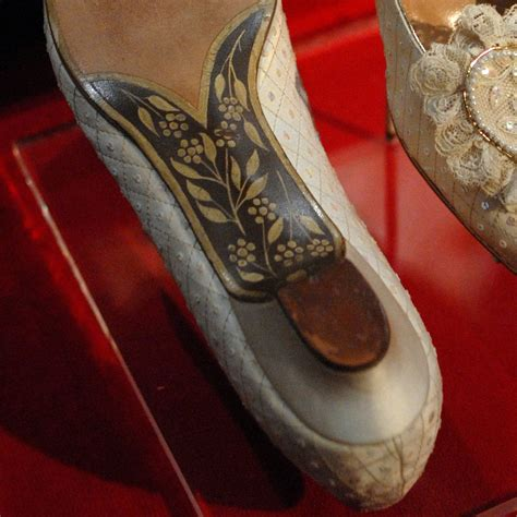 Diana Shoes by The Bottom Of Diana S Wedding Shoes Had The Letters C