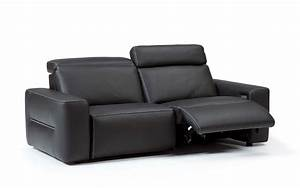 electric leather recliner sofa home the honoroak With leather sectional sofa with electric recliners