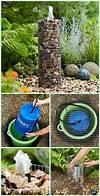 Best 25+ Rock fountain ideas on Pinterest | Water feature diy garden fountain ideas