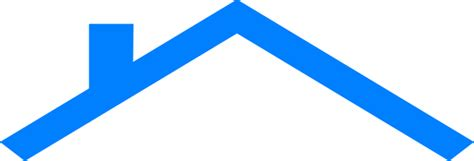 Blue House Roof Clip Art At Clker.com