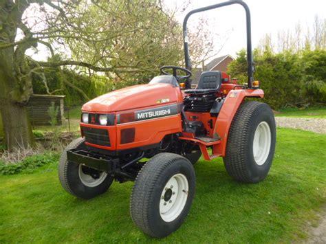Mitsubishi Compact Tractor mitsubishi mt301hd compact tractor 4x4 30hp hst rops 3
