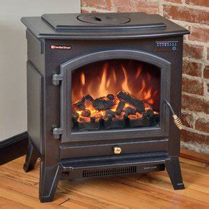 amazoncom comfort smart vermont black electric fireplace