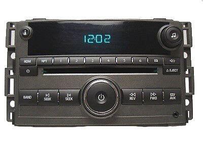 chevy chevrolet oem hhr radio stereo am fm receiver mp3 aux cd player 15832813 ebay