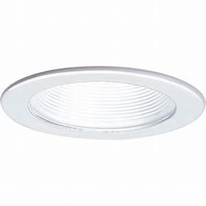 Recessed lighting top of fixtures