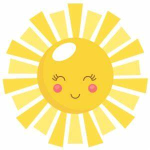 Sunshine sun clip art with transparent background free ...