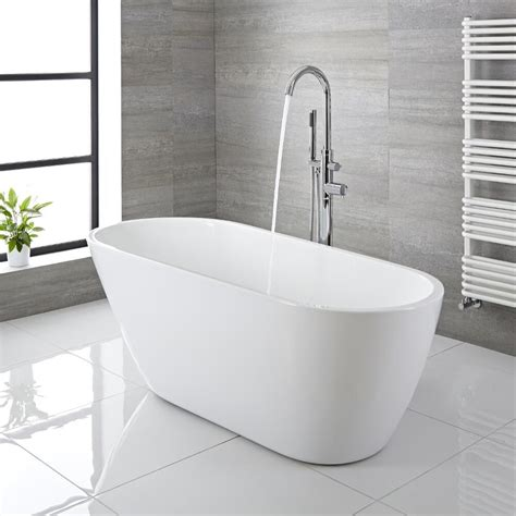 Freestanding Tub With by Modern Acrylic Freestanding Bath Tub 65 Quot