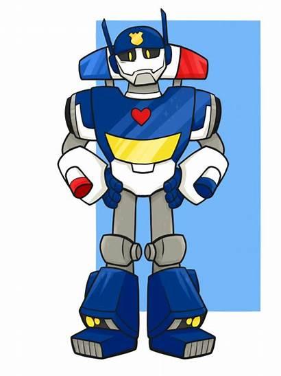 Rescue Bots Transformers Chase Prime Blades Bot