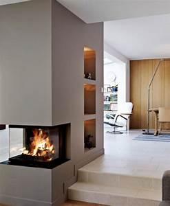 Kamin Mitten Im Raum : 1000 images about fireplace in the living room on pinterest contemporary fireplaces modern ~ Frokenaadalensverden.com Haus und Dekorationen