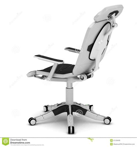 bureau high office chair in a high tech style royalty free stock photo