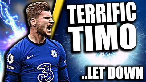 Timo Werner MAGNIFICENT In Chelsea Defensive HORROR SHOW ...