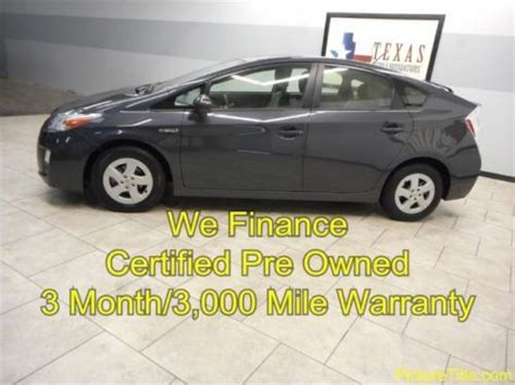 Toyota Certified Pre Owned Warranty by Sell Used 11 Prius Hybrid Certified Pre Owned Warranty We