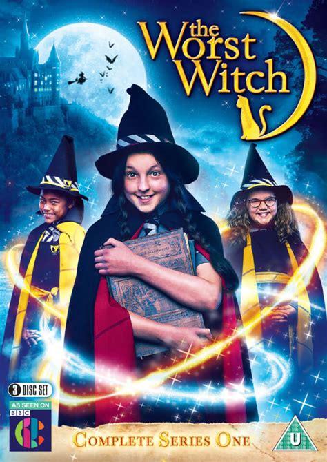 worst witch bbc  dvd zavvi uk