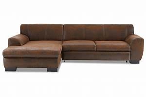 Eckcouch Günstig Mit Schlaffunktion : ecksofa nika mit schlaffunktion braun sofas zum halben preis ~ Bigdaddyawards.com Haus und Dekorationen