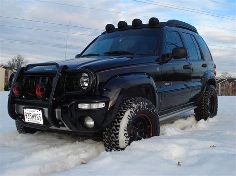 rock  jeep liberty specs  modification info