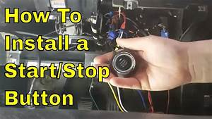 How To Install A Universal Engine Start Stop Button