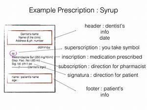 dental drugs prescription With how to write a prescription
