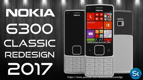nokia  classic redesign  amazing touch display