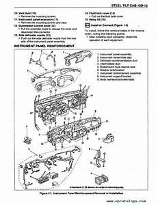Isuzu Truck Forward Tiltmaster Npr  W4 Service Manual Pdf