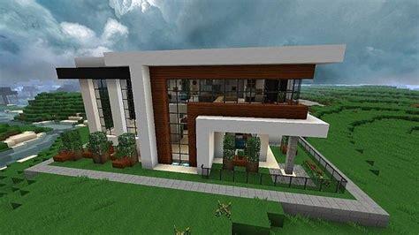 Modernes Haus Minecraft Klein by Minecraft Modern House Modern Minecraft House Blueprints