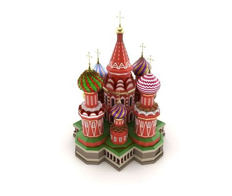 national  moscow cathedral russian famous symbol